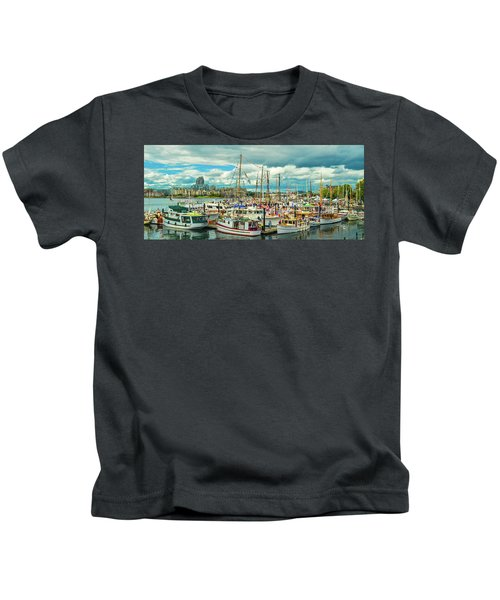 Victoria Harbor 1 Kids T-Shirt