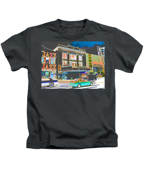 Victoria Theater 125th St Nyc Kids T-Shirt
