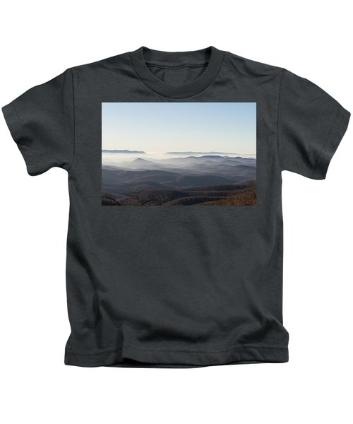 View From Blood Mountain Kids T-Shirt