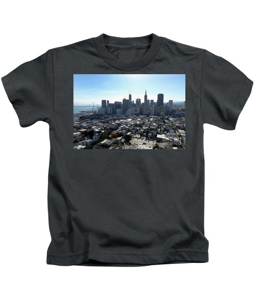 View From Coit Tower Kids T-Shirt