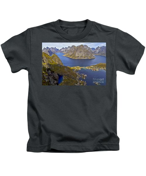 View From Reinebringen Kids T-Shirt