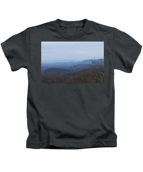 View From Springer Mountain Kids T-Shirt