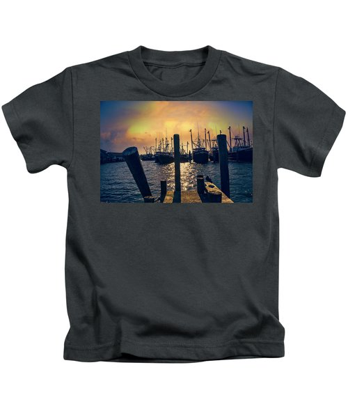 View From The Dock Kids T-Shirt