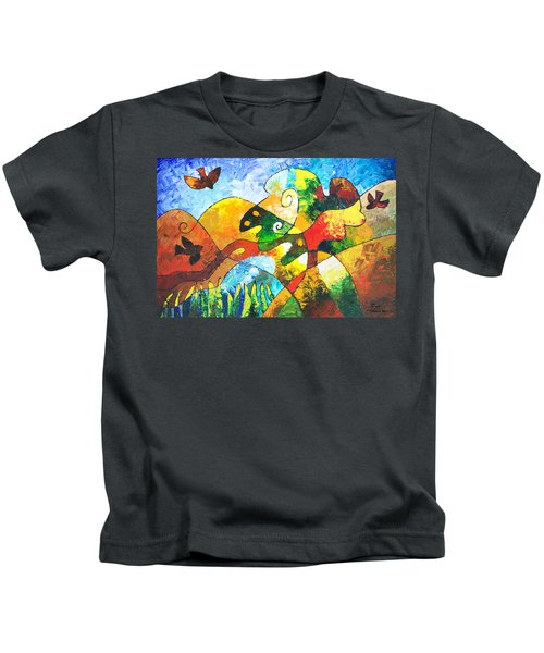 View From Valley Road Kids T-Shirt
