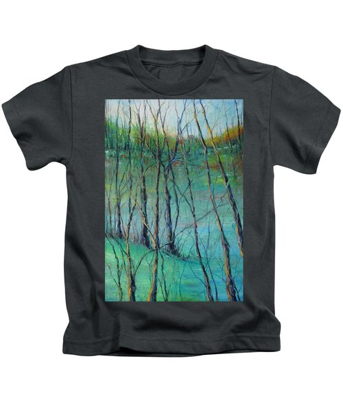 View Of Nature's Canvas Kids T-Shirt