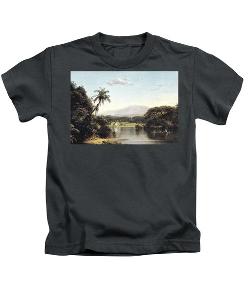 View On The Magdalena River Kids T-Shirt