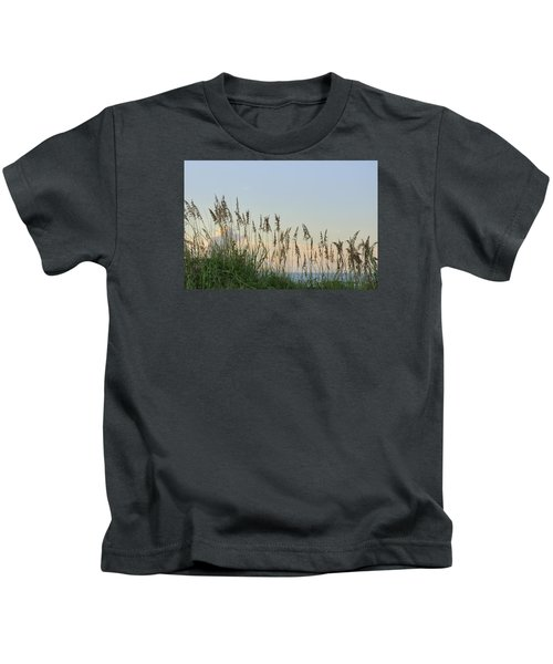 View Through The Sea Oats Kids T-Shirt