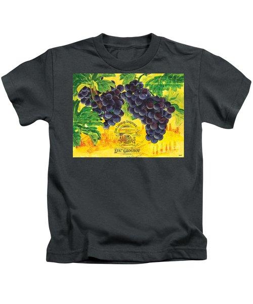 Vigne De Raisins Kids T-Shirt