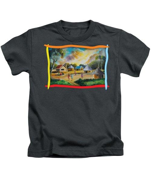 Village Life Kids T-Shirt
