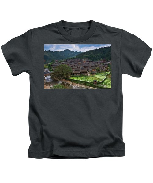 Village Of Joy Kids T-Shirt