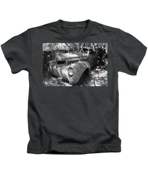 Kids T-Shirt featuring the photograph Vintage Car by Matthew Mezo