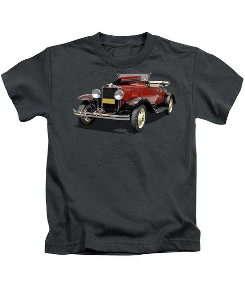 Vintage Classic Car Coupe Kids T-Shirt