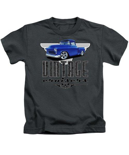Vintage Cruiser Logo Kids T-Shirt