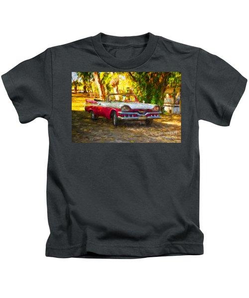 Vintage Dodge Custom Royal 1957 Kids T-Shirt