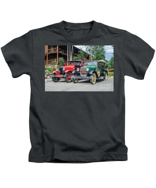 Vintage Ford's Kids T-Shirt