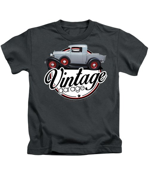 Vintage Garage Model A Kids T-Shirt