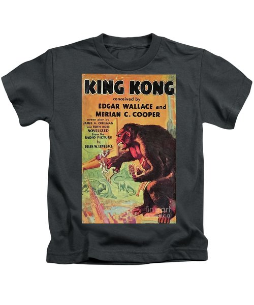 Vintage Movie Posters, King Kong Kids T-Shirt