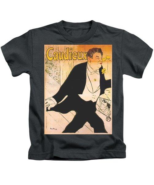 Vintage Poster - Caudieux Kids T-Shirt