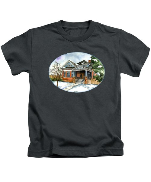 Vintage Winter Kids T-Shirt