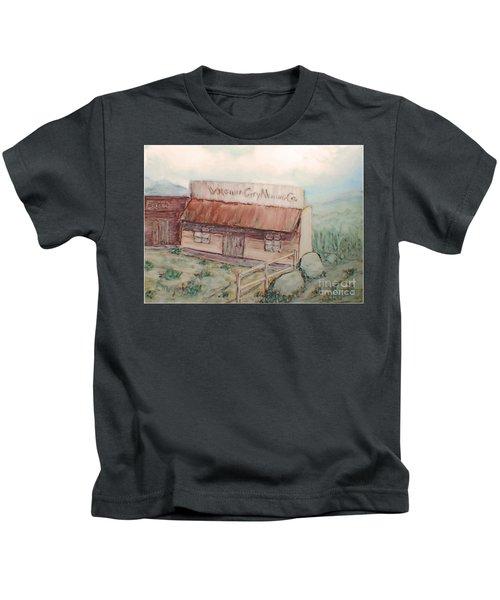 Virginia City Mining Co. Kids T-Shirt