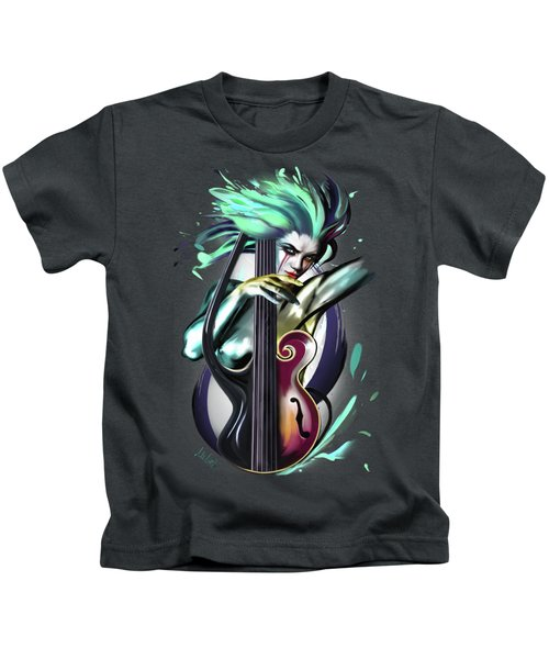 Virgo Kids T-Shirt by Melanie D