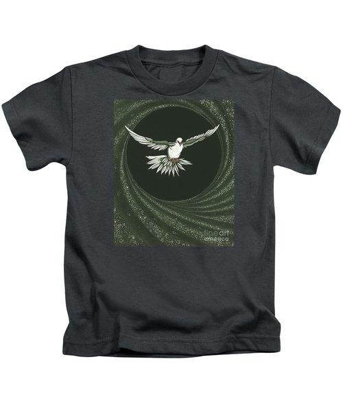 Viriditas-holy Spirit Detail Kids T-Shirt