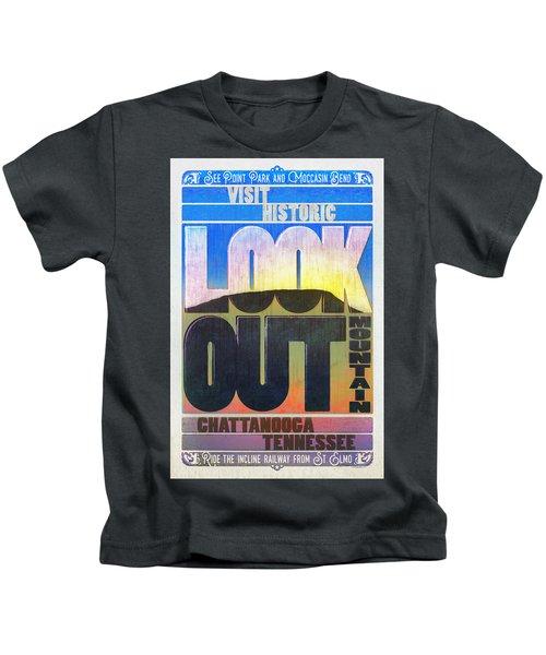 Visit Lookout Mountain Kids T-Shirt