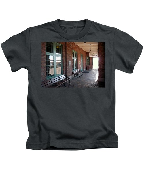 Visitors Center Train Station Kids T-Shirt