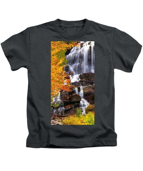 Vivid Falls Kids T-Shirt