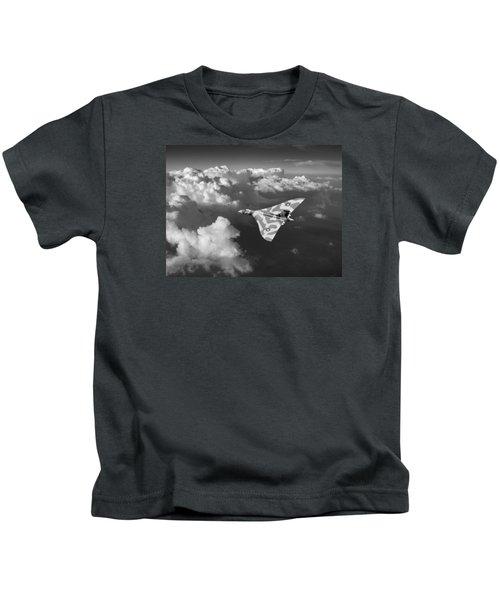 Vulcan Catching The Light Black And White Kids T-Shirt