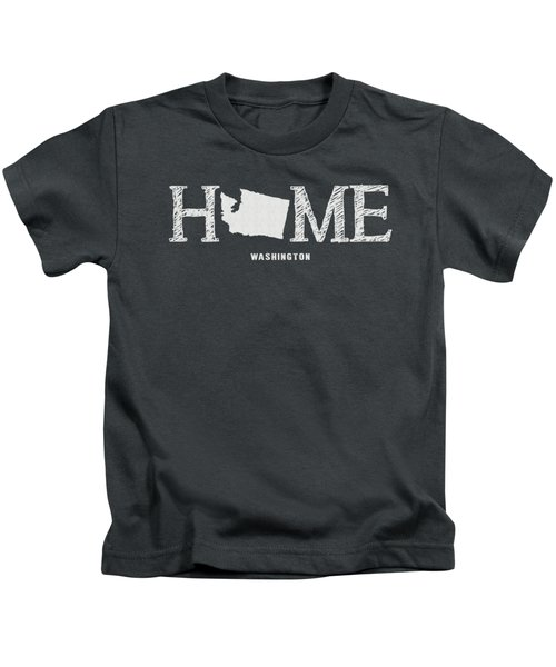 Wa Home Kids T-Shirt by Nancy Ingersoll