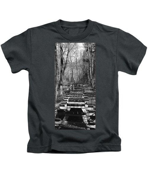 Waiting For Orders Kids T-Shirt