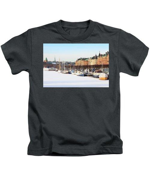 Waiting Out Winter Kids T-Shirt