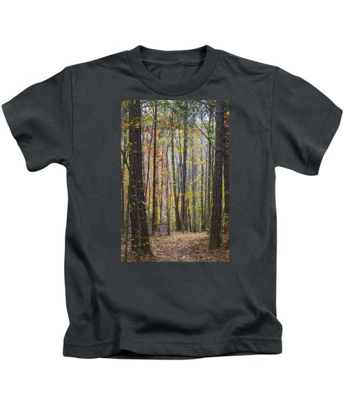 Walk In The Woods Kids T-Shirt