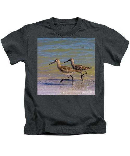 Walk Together Stay Together Kids T-Shirt