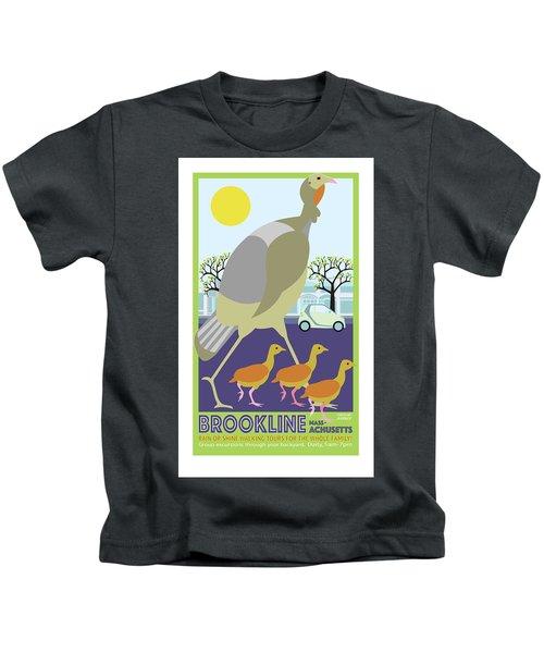 Walking Tours Kids T-Shirt