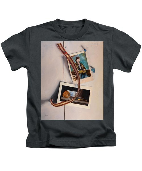 Wall Study Kids T-Shirt