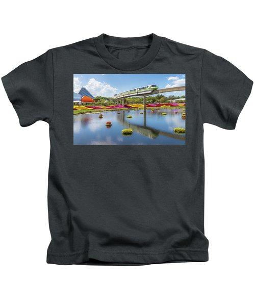 Walt Disney World Epcot Flower Festival Kids T-Shirt