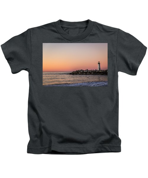 Walton At Sunset Kids T-Shirt