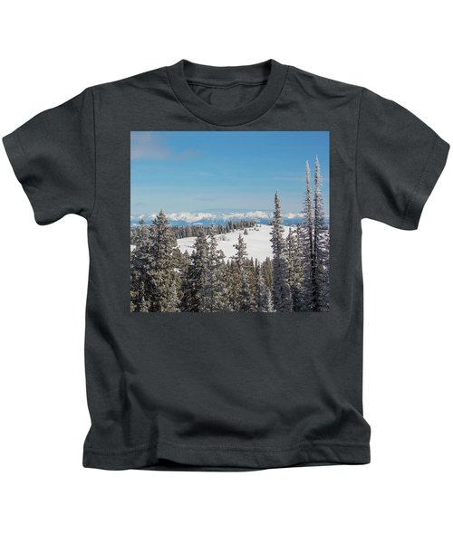 Walton Peak  Kids T-Shirt