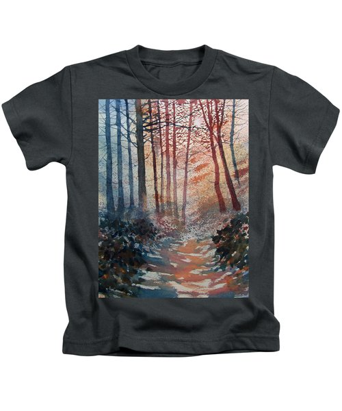 Wander In The Woods Kids T-Shirt