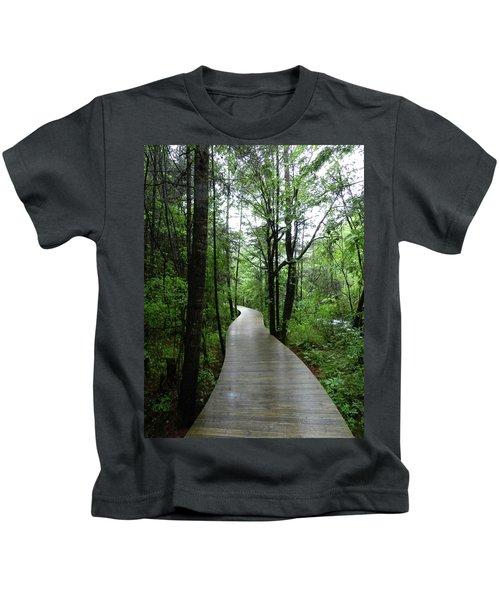 Wang Lang Nature Reserve, China Kids T-Shirt