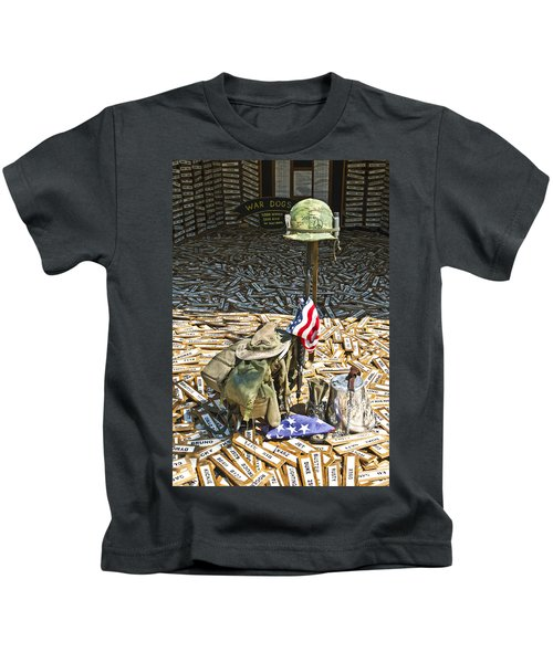 War Dogs Sacrifice Kids T-Shirt