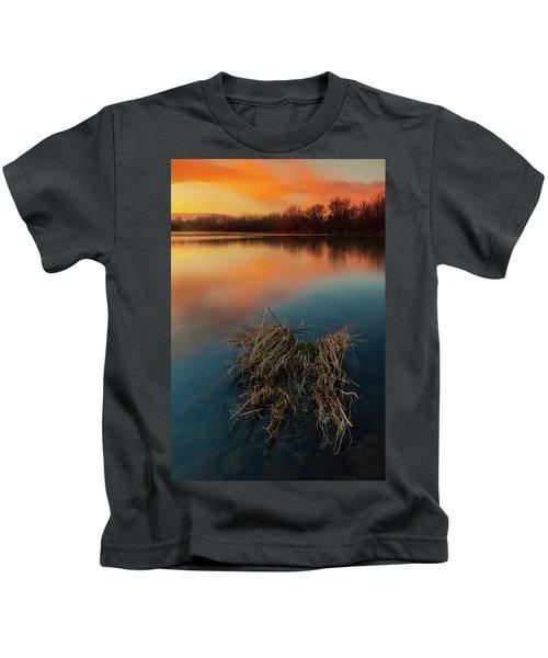 Warm Evening Kids T-Shirt