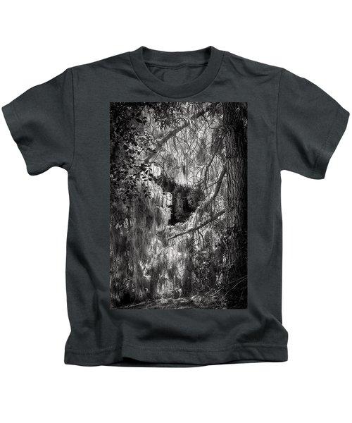 Warp Of Life Bw Kids T-Shirt