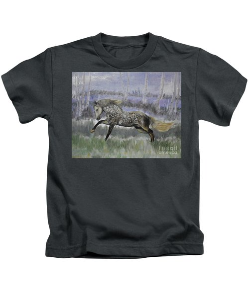 Warrior Of Magical Realms Kids T-Shirt