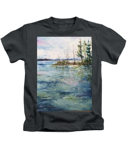 Washed By The Waters Series Kids T-Shirt