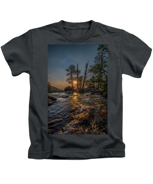 Washed With Golden Rays Kids T-Shirt