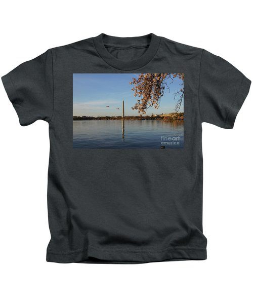 Washington Monument Kids T-Shirt