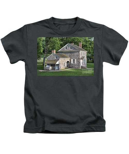 Washington's Headquarters At Valley Forge Kids T-Shirt